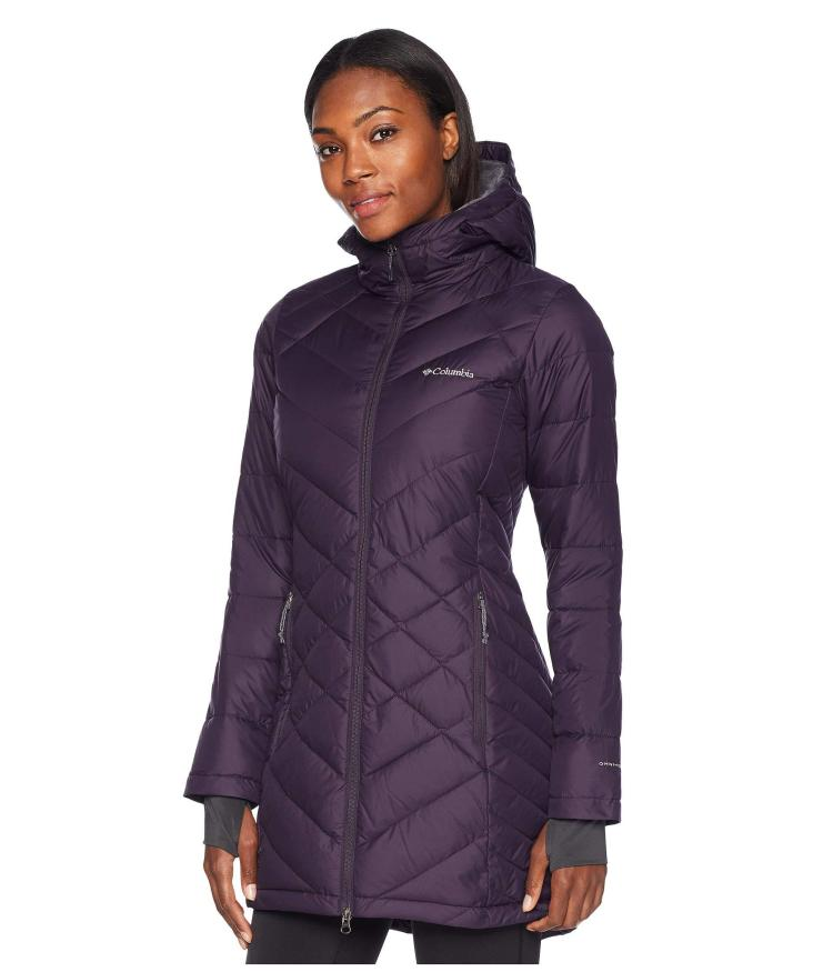 columbia-Dark-Plum-Heavenly-Long-Hooded-Jacket-truffle-Womens-Coat