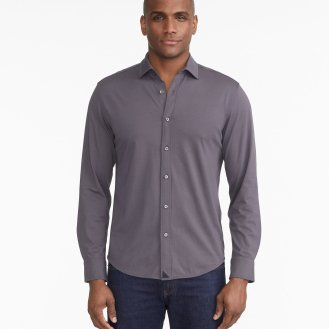 LUXE-TEE-BUTTON-DOWN_UNTUCKIT_SOLID_KNITS_WRINKLE-FREE_CHARCOAL_4_17a925c6-aa5b-42fe-8f46-7690618aab51
